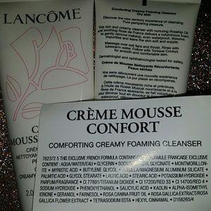 Lancome Other - Lancome Creme Mousse Confort Cleanser Bundle of 2